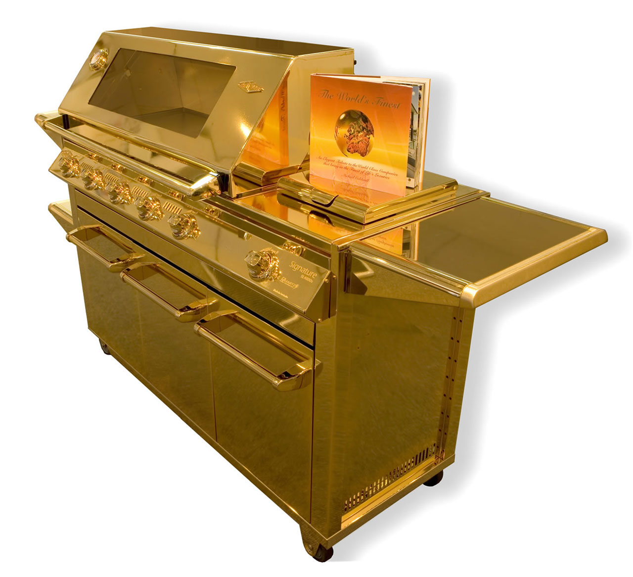Beefeater 24-Carat Gold Plated Barbecue