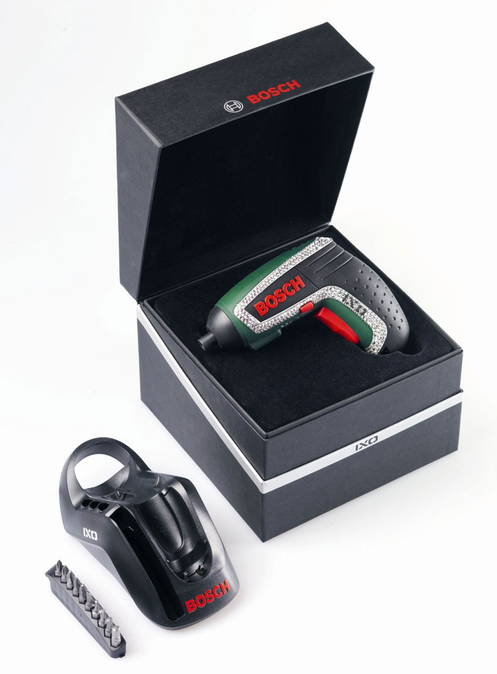 Bosch IXO Screwdriver With Swarovski Crystals &#8211; Limited Edition