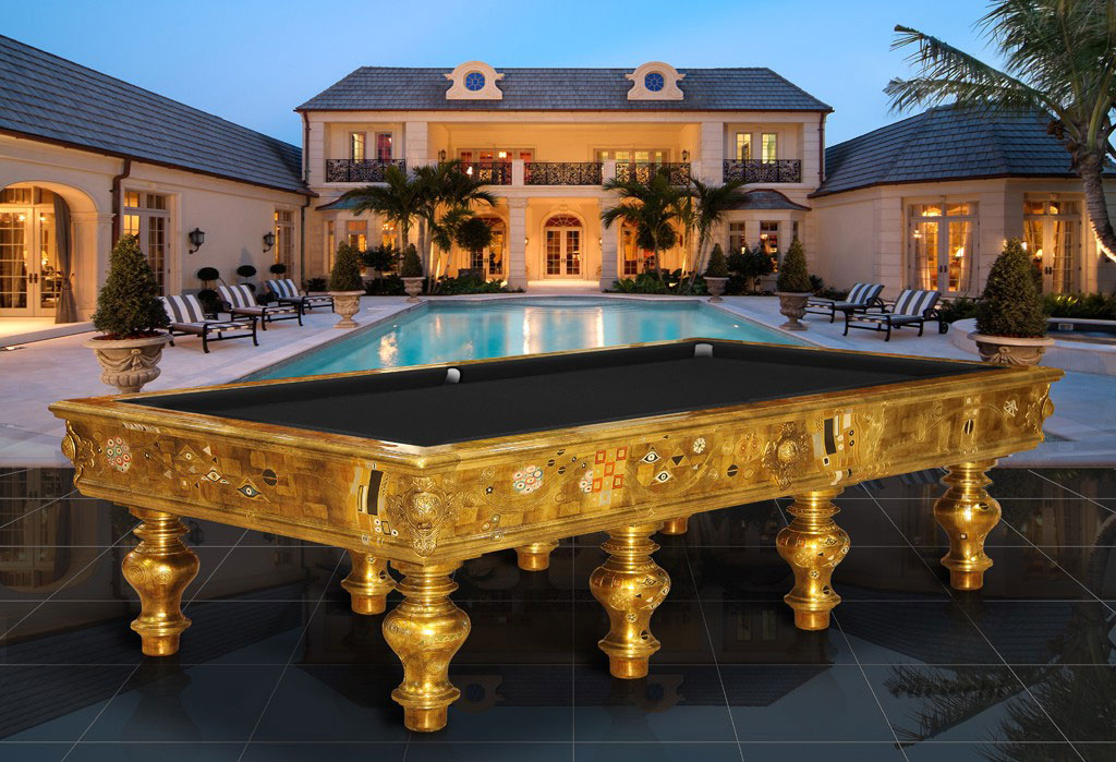 Unique cavicchi billiard table designed as a piece of furniture extravaganzi - Pool table house ...