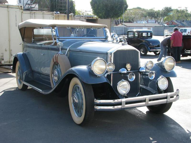 Charlie Chaplin's 1929 Pierce-Arrow Dual Cowl Phaeton