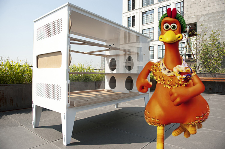 Chicken Co-Op &#8211; Luxury House for the Urban Chickens