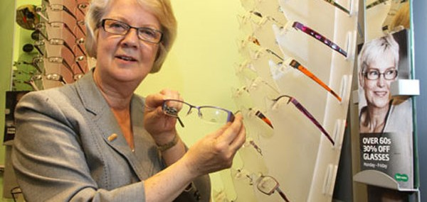 Dame Mary Perkins, founder of opticians Specsavers, is Britain's first self-made woman billionaire
