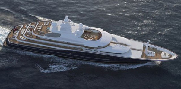 Superyacht Cakewalk goes on sale for $214 million