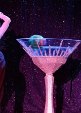 Dita Von Teese Set Fire With Swarovski Martini At Her Latest Burlesque