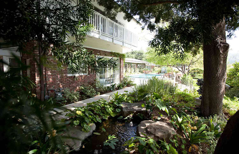 Elizabeth Taylor's Bel Air Home