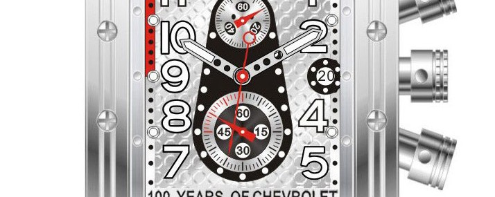 Equipe Big Block Watch For 100 Years Of Chevrolet