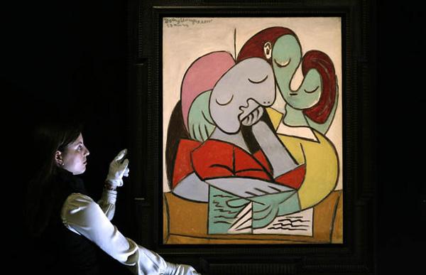 Femmes Lisant (Deux Personnages) by Pablo Picasso