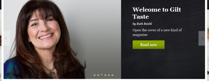 Gilt Taste – New High-End Grocery Site Offers Food From Professional Chefs