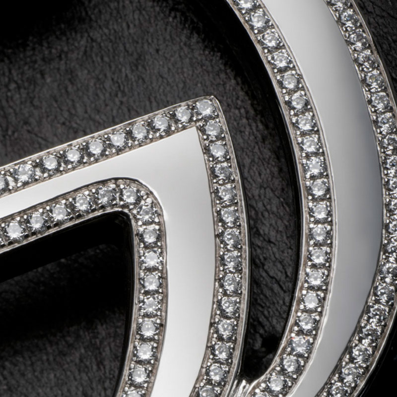 Alexander Amosu's Gucci Diamond Belt