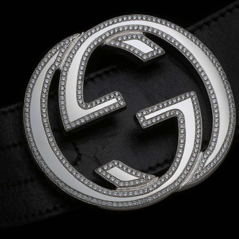 Alexander Amosu's Gucci Diamond Belt