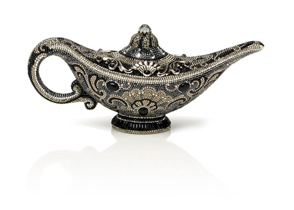 Habibi - The Genie Lamp Minaudière By Judith Leiber