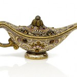 Habibi – The Genie Lamp Minaudière By Judith Leiber