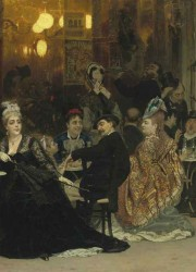 A Parisian Café by Ilya Repin Will Lead Christie's Forthcoming Russian Sale