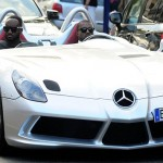 Kanye West Made a Halt With $1.7 million Mercedes McLaren SLR at Cannes Party