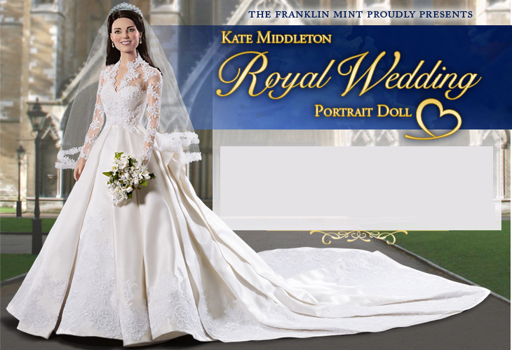 Kate Middleton Royal Elegance Bride Doll on Sale for $295