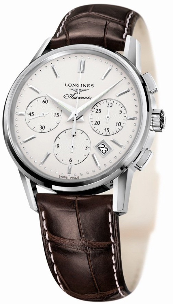 Longines Column-Wheel Chronograph Watch at Kentucky Derby