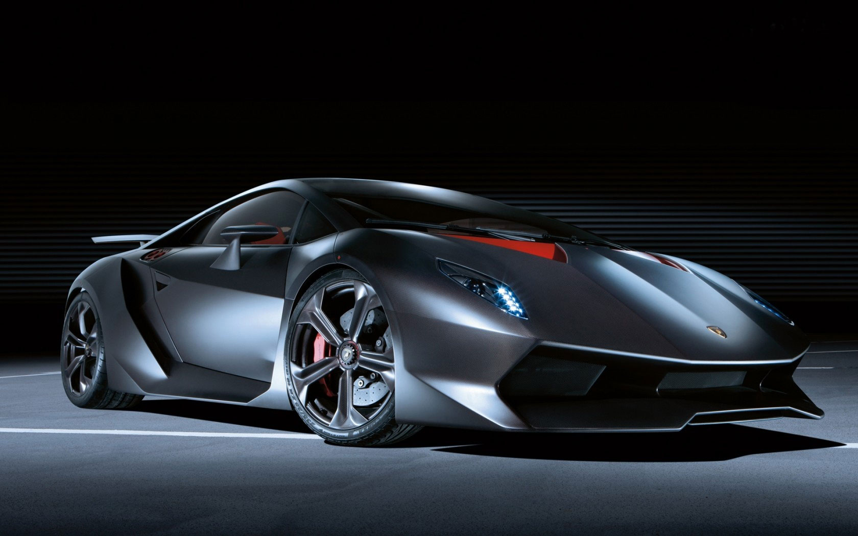 Lamborghini Sesto Elemento- too fast to be legally driven on U.S. roads