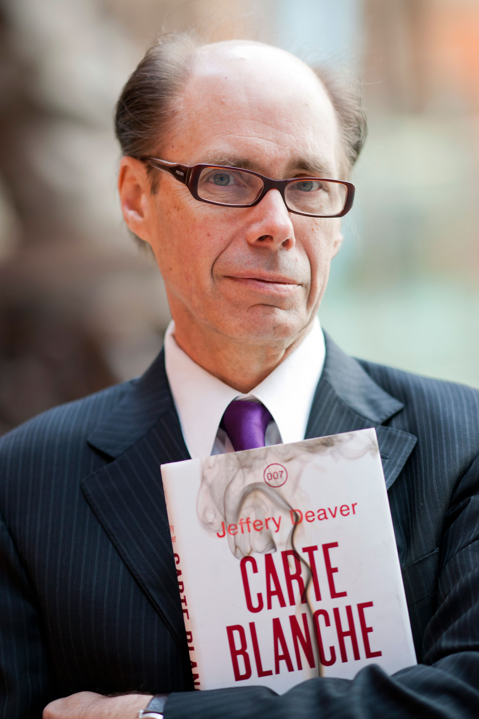 Launch of New James Bond Book, Carte Blanche