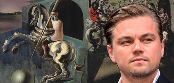 Leonardo DiCaprio - Salvador Dali's Chevaliers on Parade
