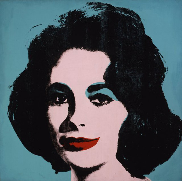 Liz #5 by Andy Warhol