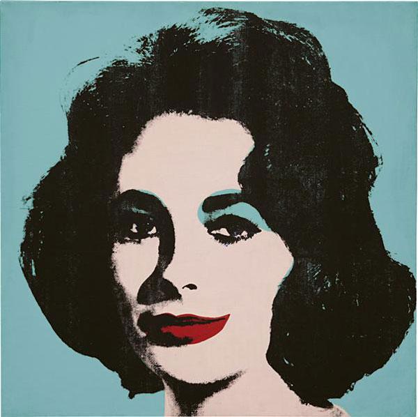 Andy Warhol's Liz #5