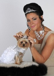 Rich Pet Lola Gets Tiara Worth £800