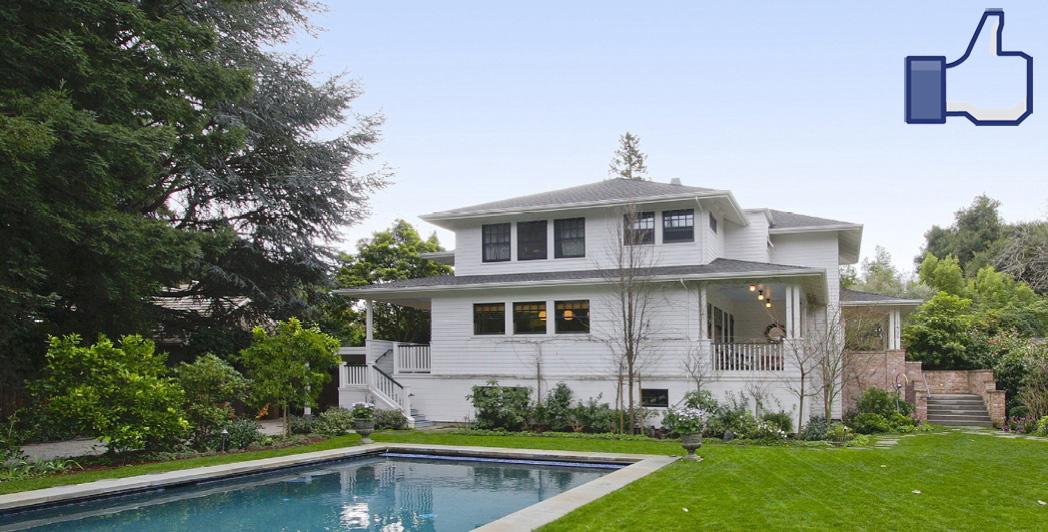 Mark Zuckerberg Buys a $7 Million Home Near Facebook's New Campus