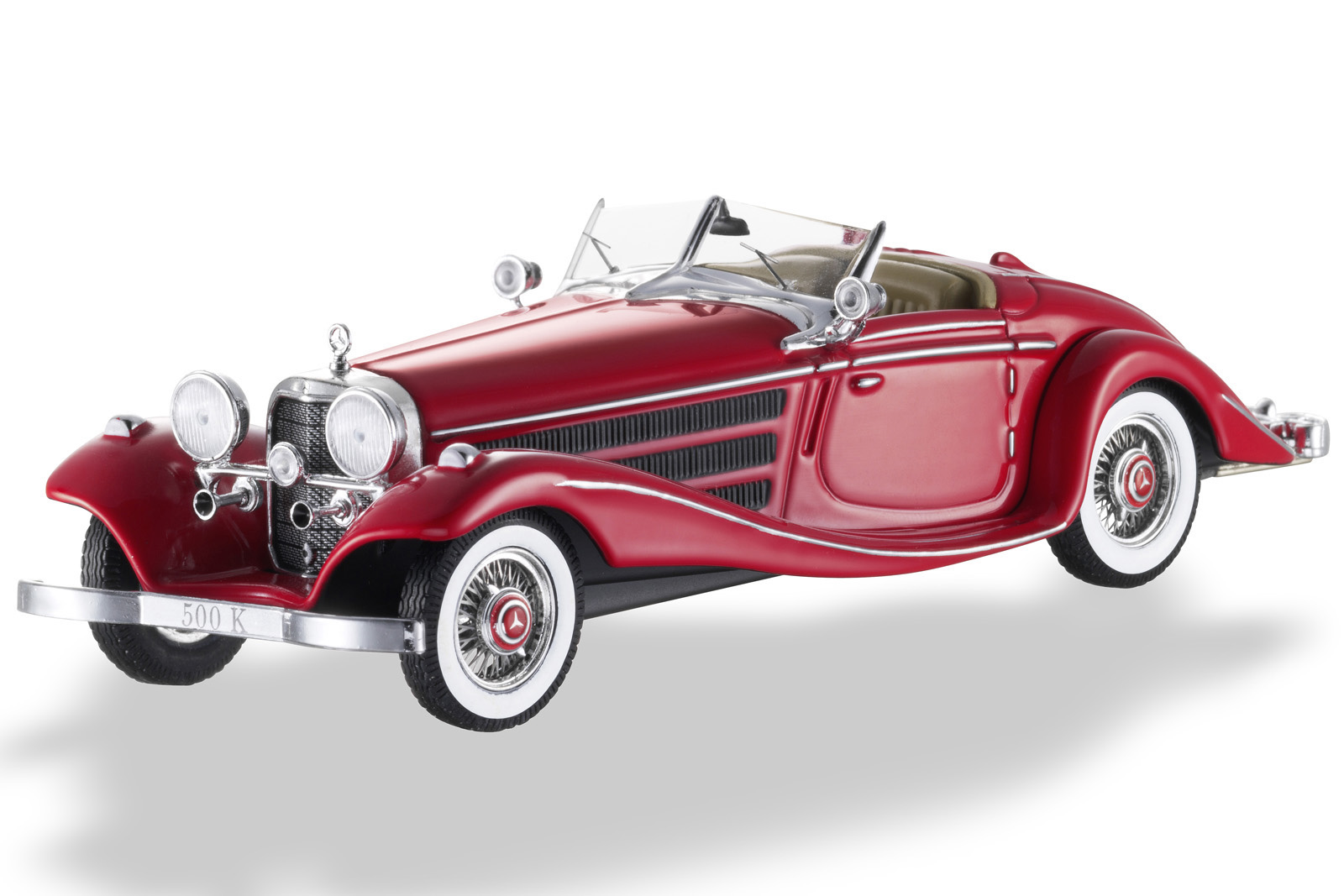 1936 Mercedes-Benz 500 K Special Roadster, Model Car