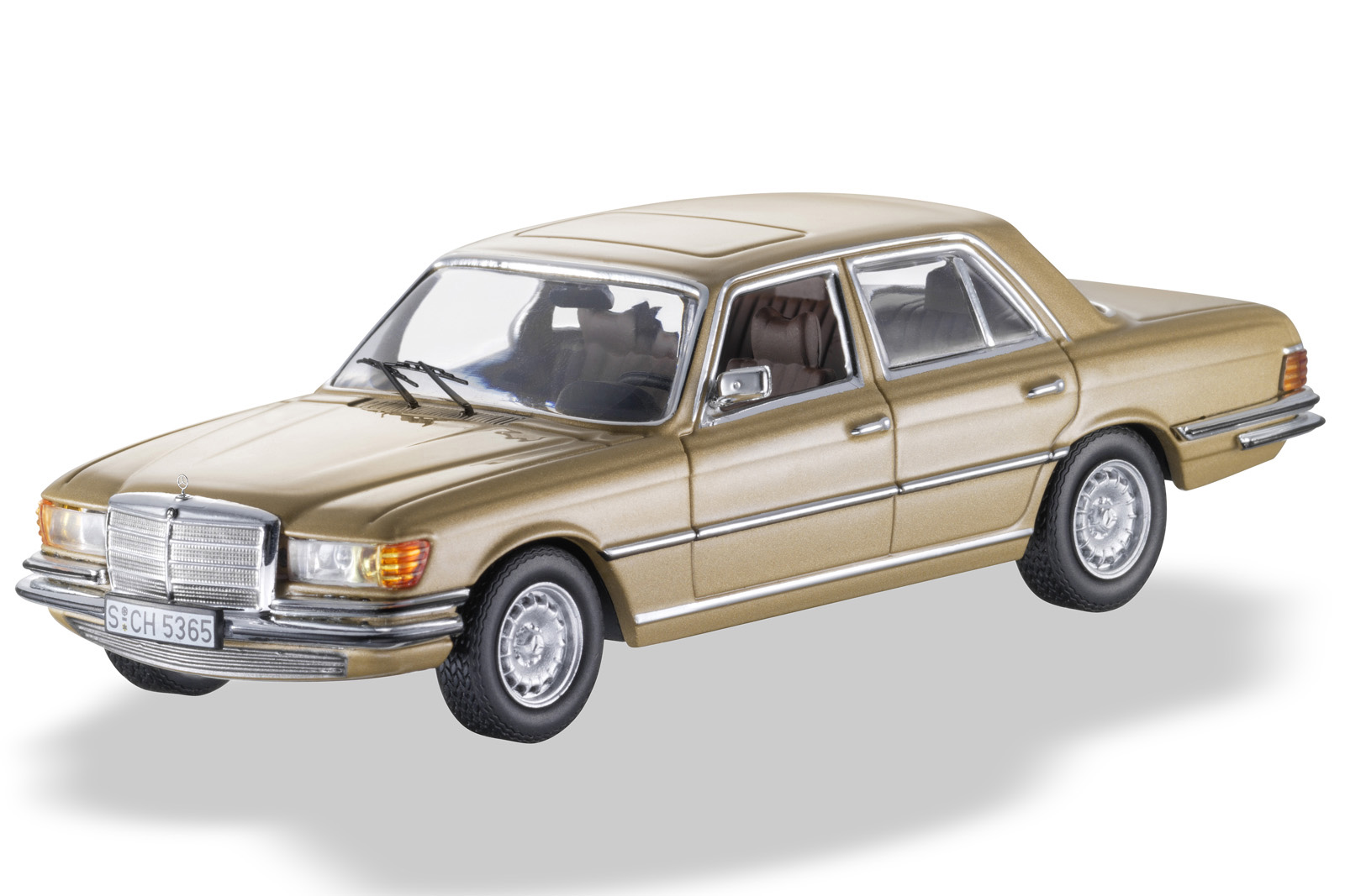 S Class, W116, Model Car