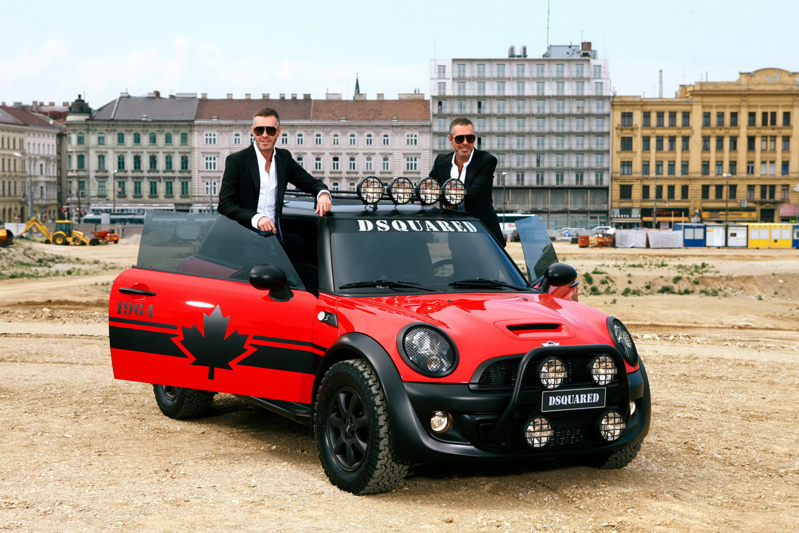 Mini Cooper S by Dsquared2