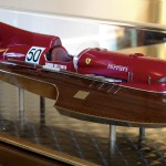 Limited Edition 1:8 Scale Ferrari Motorboat Anro XI