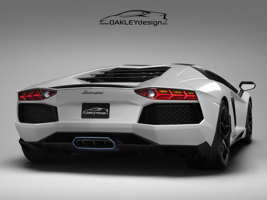 Limited Edition Lamborghini Aventador LP760-2 by Oakley Design