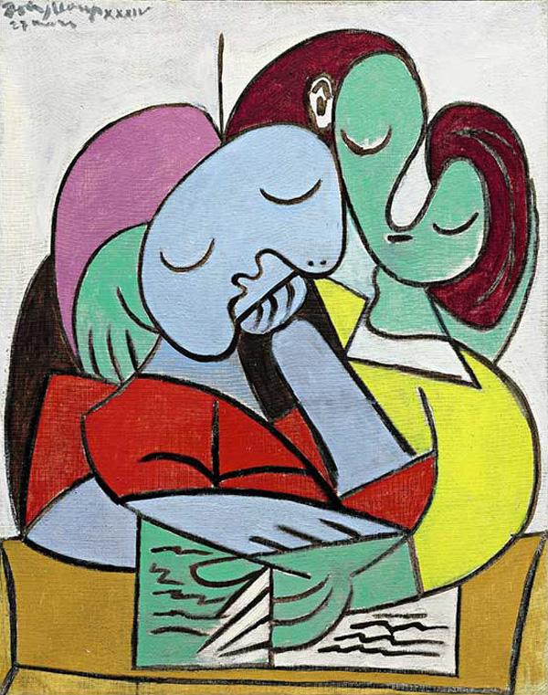 Pablo Picasso's Femmes Lisant (Deux Personnages)