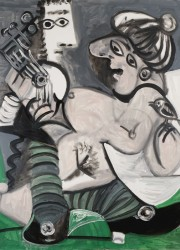 Couple a la Guitar by Pablo Picasso
