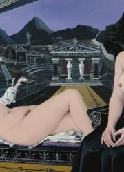 Les Cariatides by Paul Delvaux