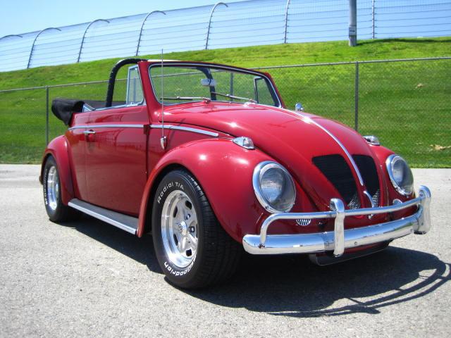 Paul Newman's VW Beetle