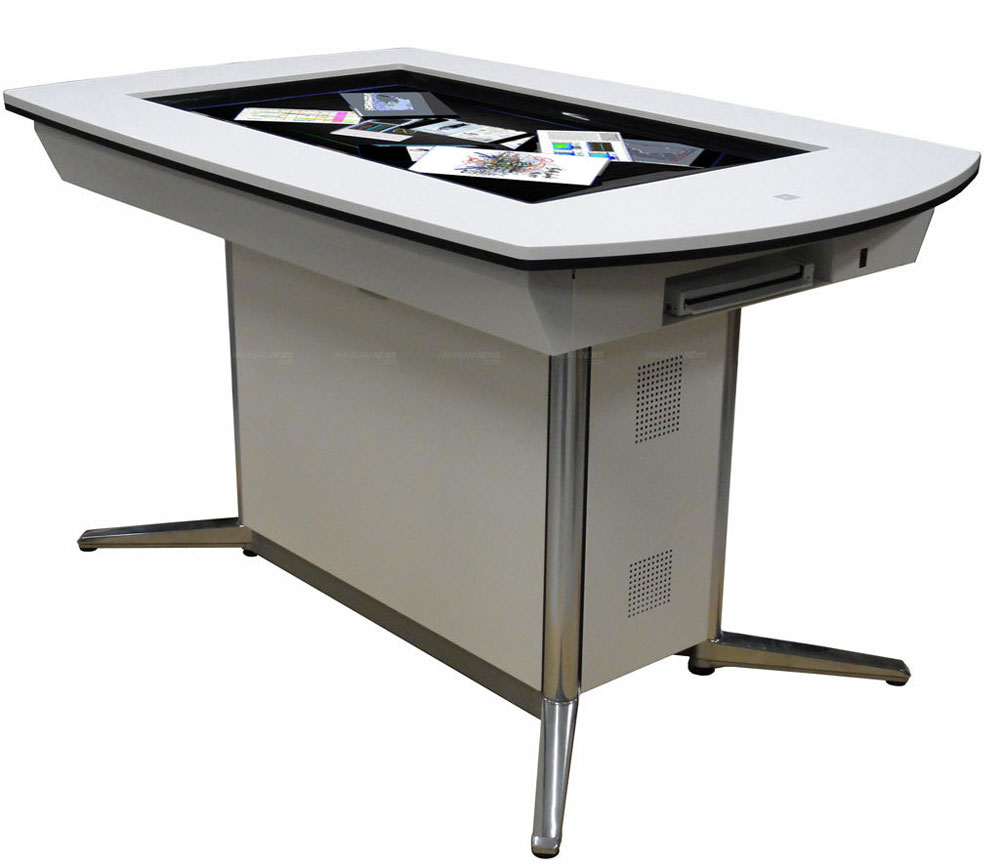"Pioneer WWS-DT101 - 52"" Multitouch Interactive Discussion Table"