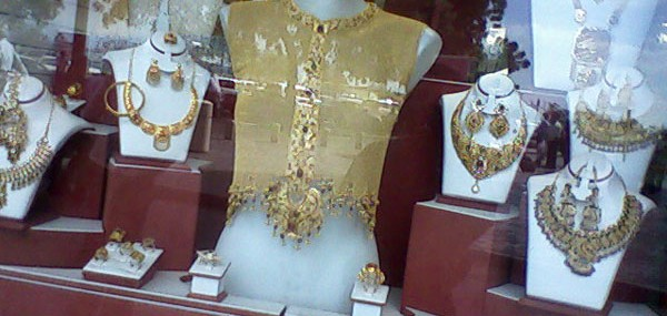 22 Karat Ladies Gold Jacket For Sale At Gold Souq In Dubai