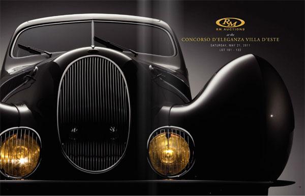 RM Autions - Concorso d'Eleganza Villa d'Este
