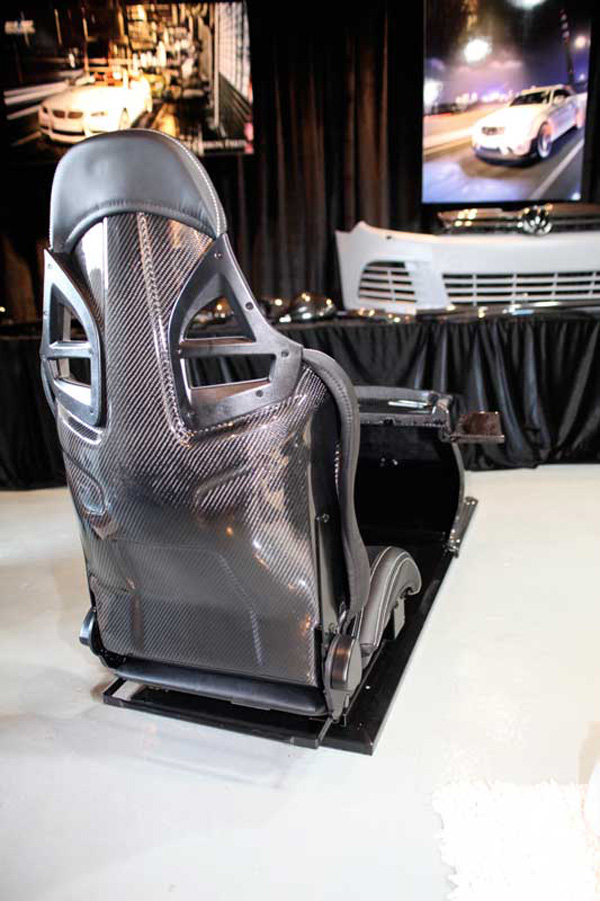 RevoZport GT5 Carbon Driving Console