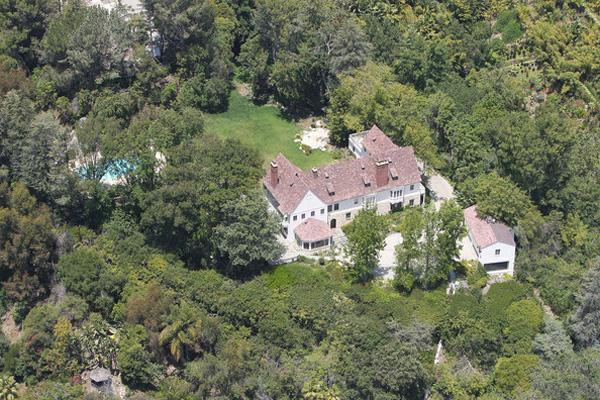 Sandra Bullock beverly hills home