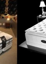 Get Luxury Dreams With Simmons Beautyrest Swarovski Black Bed