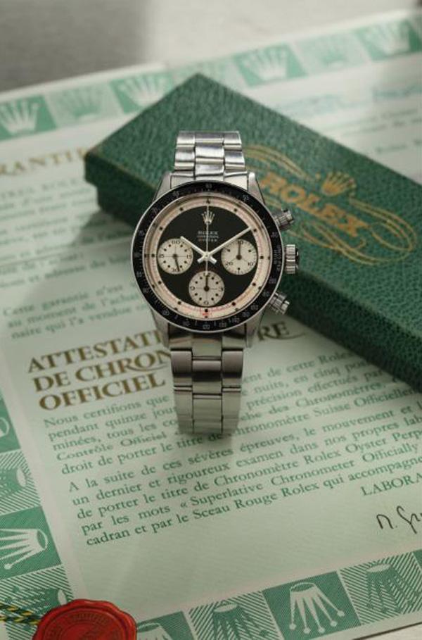 Rolex Daytona 'Paul Newman' Inverted Lines Watch