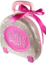 Swarovski Crystal Covered Potty As $1,135 Present For A Friend