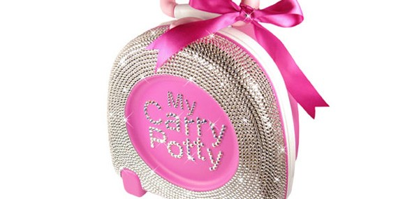 My Carry Potty with Swarovski Crystal