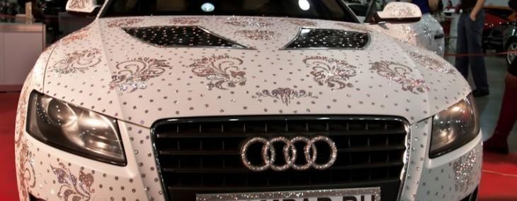 Swarovski Studded Audi