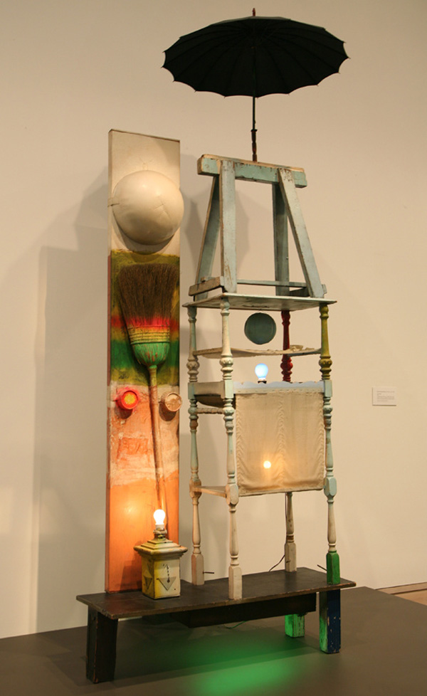 The Tower by Robert Rauschenberg
