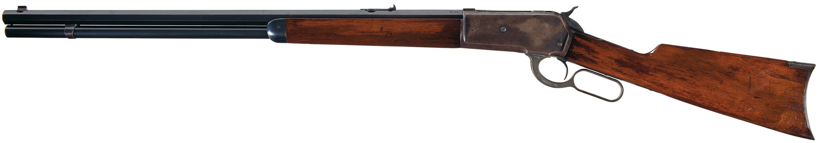 Winchester Model 1886 50 Express Smoothbore Lever Action Rifle