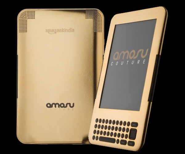 Amosu's Gold Kindle – Amazon's Top Selling Item Coated in 24ct gold