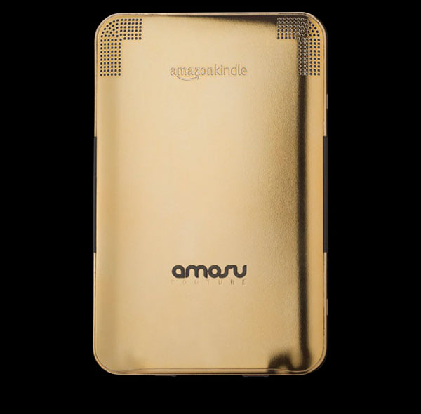 Amazon Gold Kindle Wifi +3G by Amosu Couture